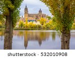 the cathedral of salamanca ... | Shutterstock . vector #532010908