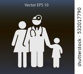 family practice vector... | Shutterstock .eps vector #532017790