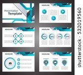 blue presentation template... | Shutterstock .eps vector #532019560