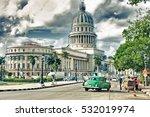 havana  cuba  oct 24  2016 ... | Shutterstock . vector #532019974
