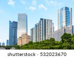 guangzhou beautiful city scenery | Shutterstock . vector #532023670