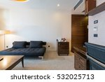 interior of a hotel room  | Shutterstock . vector #532025713