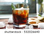toned picture. alcohol  rum ... | Shutterstock . vector #532026640