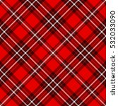 plaid check pattern in red and ... | Shutterstock .eps vector #532033090