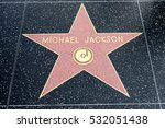 Small photo of HOLLYWOOD, CA - DECEMBER 06: Michael Jackson star on the Hollywood Walk of Fame in Hollywood, California on Dec. 6, 2016.