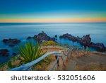 Beautiful Madeira Cliffs And...