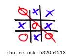 xo game | Shutterstock . vector #532054513