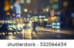 evening traffic. the city... | Shutterstock . vector #532066654