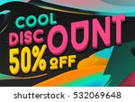 cool discount banner design....