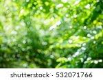 green background and bokeh ... | Shutterstock . vector #532071766