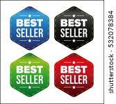best seller patch set | Shutterstock .eps vector #532078384