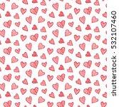 vector romantic seamless... | Shutterstock .eps vector #532107460