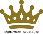 crown with details | Shutterstock .eps vector #532111840