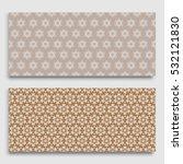 seamless horizontal borders... | Shutterstock .eps vector #532121830