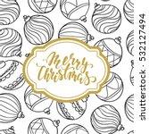 black and white pattern... | Shutterstock .eps vector #532127494