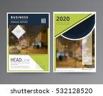 business template for brochure  ... | Shutterstock .eps vector #532128520