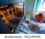 monitor showing heart rate ...   Shutterstock . vector #532149190