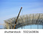 construction site. installation ... | Shutterstock . vector #532163836