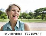 Senior Woman Smiling Lifestyle...