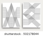 abstract hipster lines... | Shutterstock .eps vector #532178044