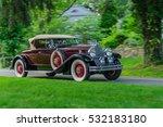 1930 Packard Roadster Speeds...