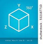 virtual reality icons series ...   Shutterstock .eps vector #532187710