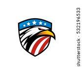 american eagle | Shutterstock .eps vector #532196533