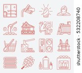 Modern Vector Line Icons With...