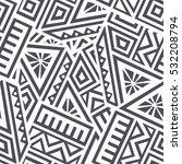 unique geometric vector... | Shutterstock .eps vector #532208794