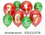 happy new year concept with... | Shutterstock . vector #532211578