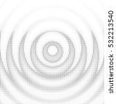 wavy mandala halftone... | Shutterstock .eps vector #532213540