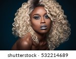 wild one   fly makeup | Shutterstock . vector #532214689