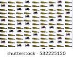 patten of wine bottles and... | Shutterstock . vector #532225120