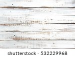 White Rustic Wood Plank...