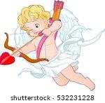 valentine's day illustration... | Shutterstock .eps vector #532231228