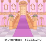 luxury staircase in the magic... | Shutterstock .eps vector #532231240