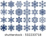 Snowflakes Set  Snow Flakes...