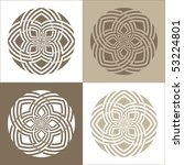 four variations of a vector... | Shutterstock .eps vector #53224801