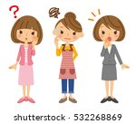 woman and housewife and... | Shutterstock .eps vector #532268869