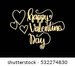 happy valentine's day... | Shutterstock .eps vector #532274830