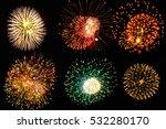 firework  | Shutterstock . vector #532280170