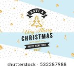 merry christmas and happy new... | Shutterstock .eps vector #532287988
