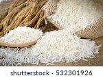 white rice  thai jasmine rice ... | Shutterstock . vector #532301926