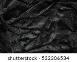 Black Cloth Texture And...