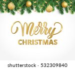 vector holiday background with... | Shutterstock .eps vector #532309840