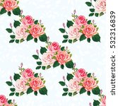 seamless floral pattern with...   Shutterstock .eps vector #532316839