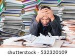 emotional stress.   Shutterstock . vector #532320109