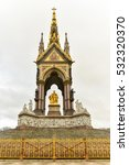 Small photo of Prince Albert Memorial, Gothic Memorial to Prince Albert in London, United Kingdom.