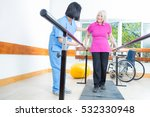 rehabilitation clinic with... | Shutterstock . vector #532330948