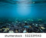 Rocks Under The Sea Waves Water ...